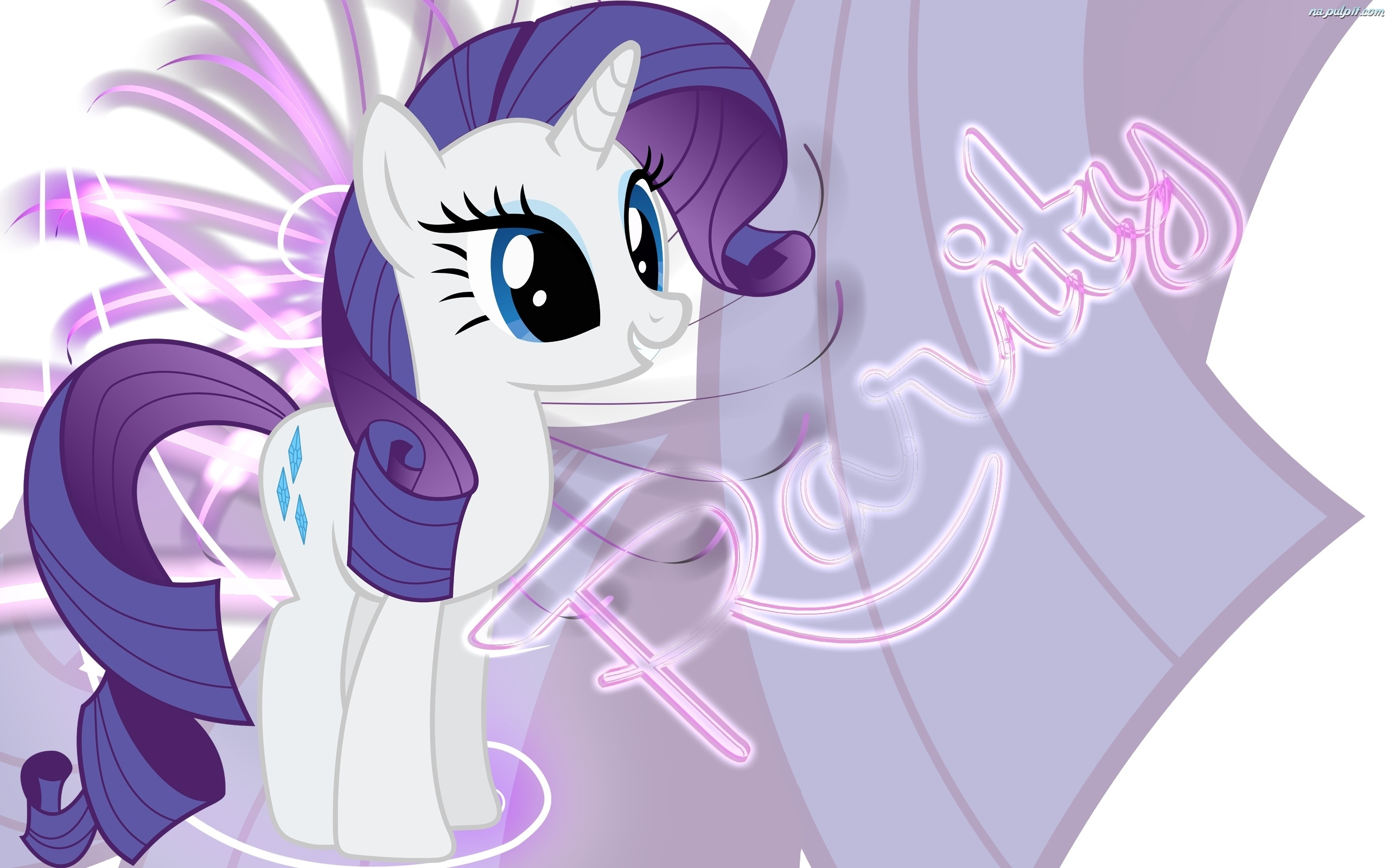 Rarity  My Little Pony  Przyja     To Magia